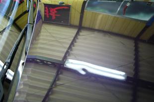 施行前 R32GT-R・・・アルミボンネット(4センチ)