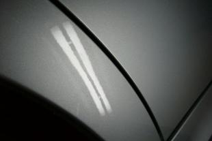 施行後 BMW325i・・・リヤクォーター(3センチ)