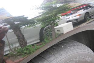 施行後 日産スカイライン(R32)・・・リヤクォーター(4センチ)