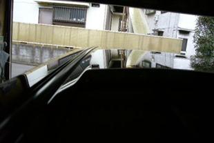 施行後 トヨタウィッシュ・・・ルーフ(10センチ)