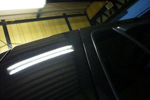 施行前 VWゴルフ・・・Cピラー(4センチ&3センチ)