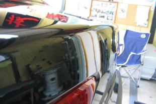 施行前 アルファロメオ156・・・トランク
